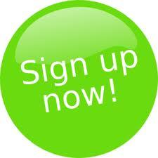 sign up teken button