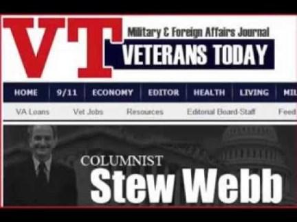 Stew Webb was een van de journalisten, die aan de wieg stond van ''Veterans Today