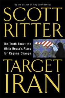 Het boek dat Ritter schreef over Iran als doel voor de Neocons in de VS.