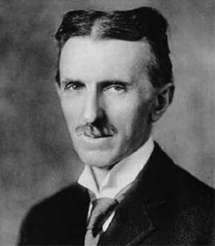 Nicola Tesla (1856 - 1943) was zijn tijd ver vooruit, zo blijkt steeds weer.