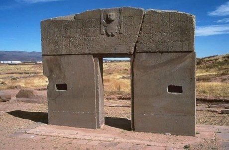 Tiahuanacu 'De poort van de Zon