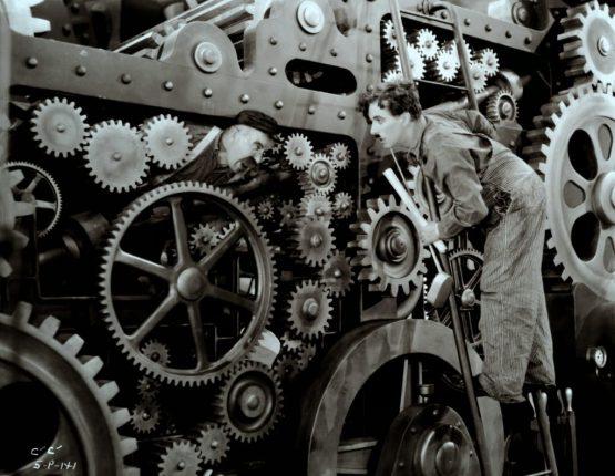 wheels in the machine