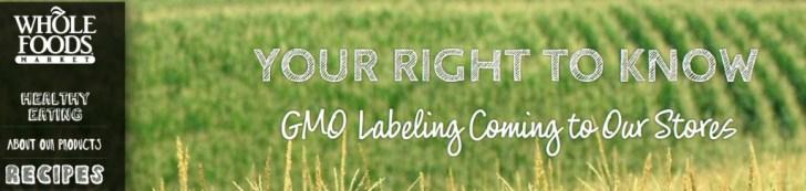 Het ziet er allemaal zo zoet uit. Whole Foods dat de bezoekers van haar website meedeelt dat het bedrijf -in het belang van haar klanten- de GMO-voedsel gaat labellen.. Hoe anders is de werkelijkheid zoals je die in dit artikel aantreft..!