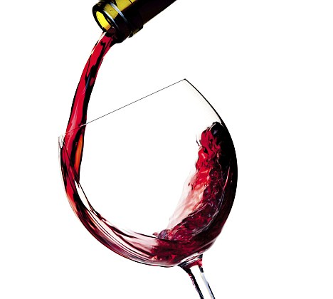 wine drinking pooring