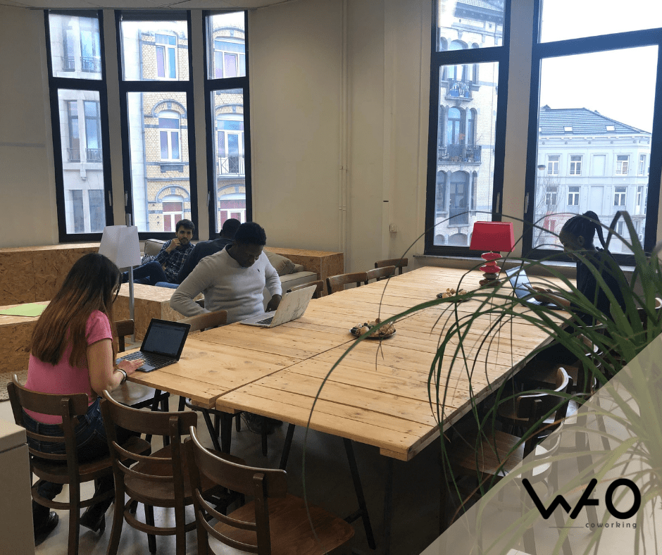 Shared workspace: instructions for a good coexistence