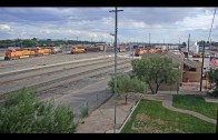 Belen, New Mexico USA – Virtual Railfan LIVE
