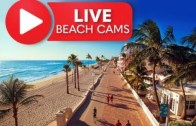Live Beach Cam Hollywood Beach Broadwalk, Florida