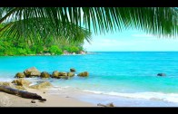 🌴 Tropical Beach Ambience on a Island in Thailand with Ocean Sounds For Relaxation & Holiday Feeling