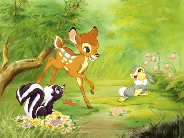Bambi : Coloriage Disney Bambi à imprimer et colorier