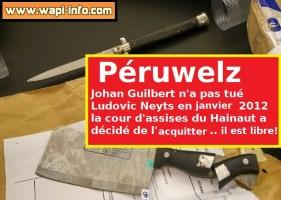 Péruwelz : Johan Guilbert a frappé Ludovic Neyts en janvier 2012, mais pour le jury de la cour d'assises ne l'a pas tué - il ressort libre du tribunal
