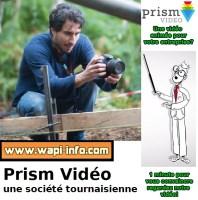 Tournai : spécialiste de la vidéo explicative Prism Vidéo - il est le premier annonceur local de Wapi-Info.com (+ vidéos)