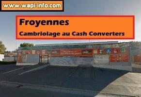 Froyennes : cambriolage au Cash Converters