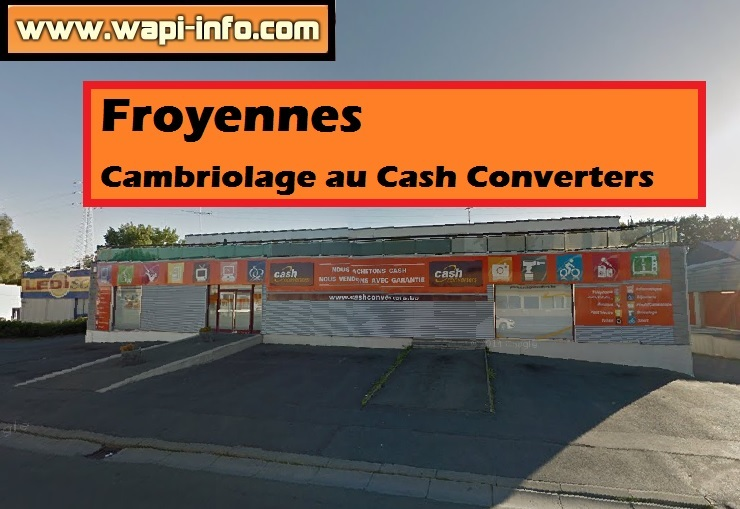 cambriolage froyennes
