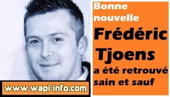 Frédéric Tjoens a été retrouvé sain et sauf à Perpignan