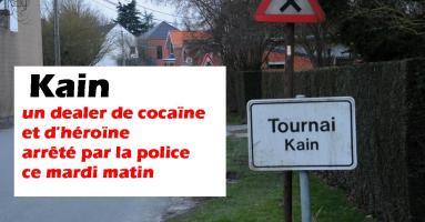 Kain : un dealer de cocaïne et d'héroïne arrêté par la police ce mardi matin
