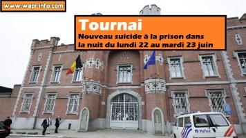 Tournai : nouveau suicide à la prison cette nuit