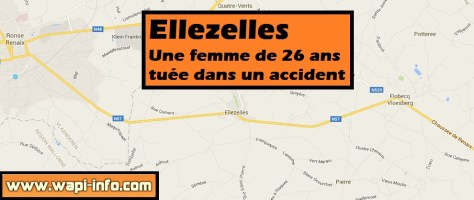 Ellezelles : accident mortel pour une femme de 26 ans dans la nuit de jeudi à vendredi