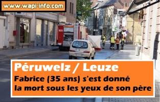 Péruwelz / Leuze : Fabrice (35 ans) s'est donné la mort sous les yeux de son père