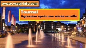 Tournai : agressé après une soirée en ville