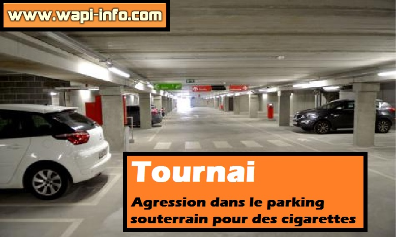 Tournai parking souterrain