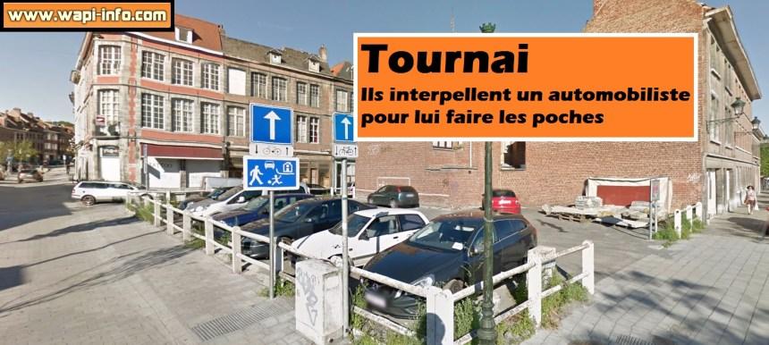 Tournai poche parking