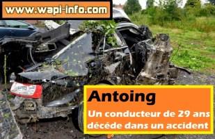 Antoing : accident mortel cette nuit chaussée de la Sucrerie