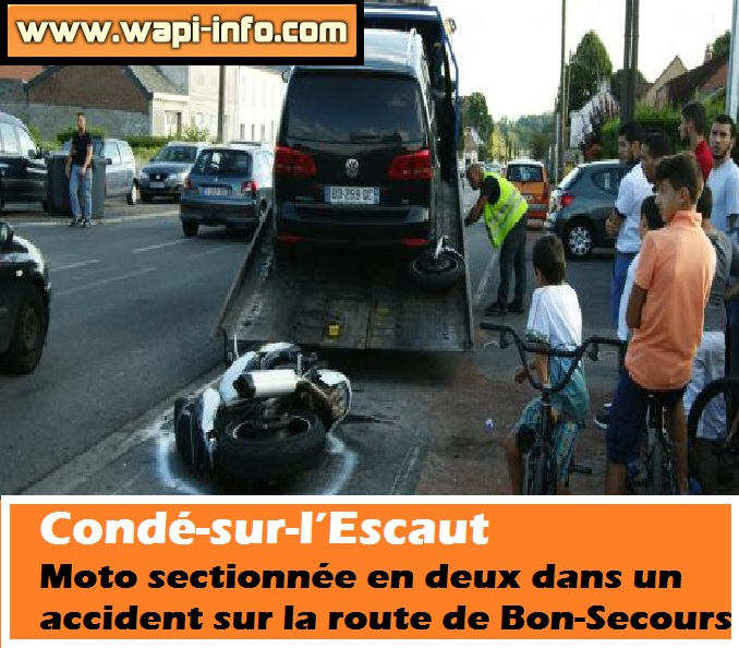 conde accident moto