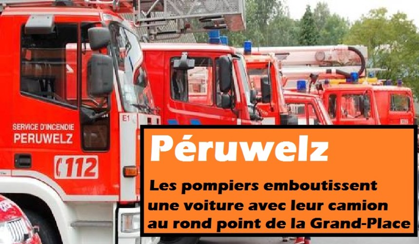 peruwelz pompiers accident