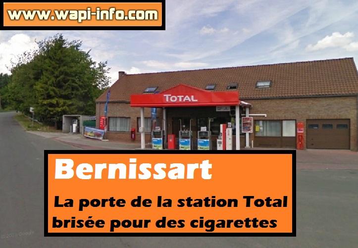 station total Bernissart