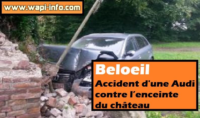 Beloeil chateau accident