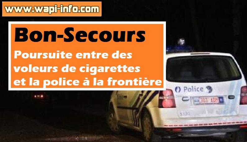 Bon Secours cigarette police