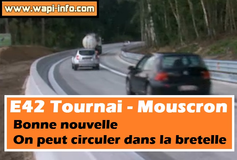 Bretelle tournai mouscron