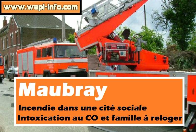 Maubray Incendie cite sociale