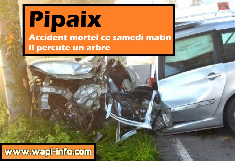 accident mortel pipaix samedi 26 septembre
