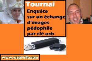 Tournai : échange d'images pédophile