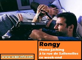 Rongy : home-jacking à la rue de Sallenelles ce week-end