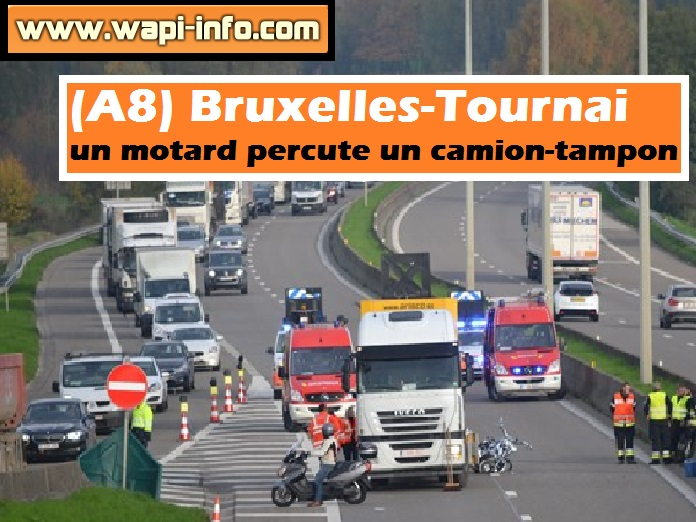 A8 accident motard