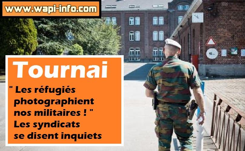 Tournai caserne refugies