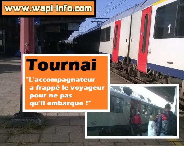 Tournai gare incident
