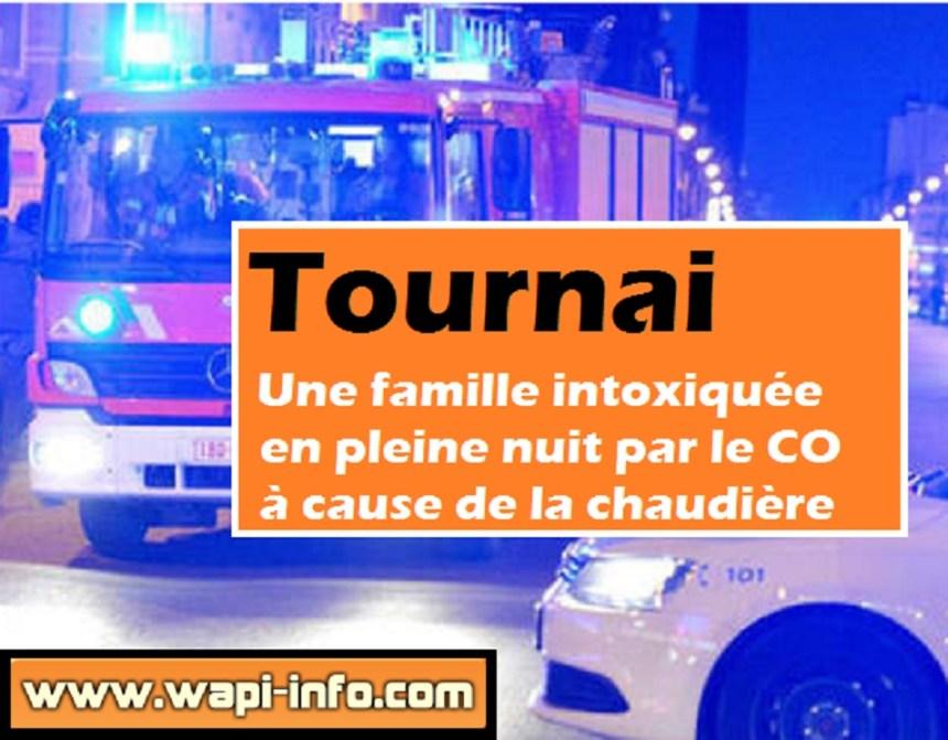 Tournai intoxication CO