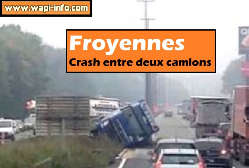 froyennes crash camions