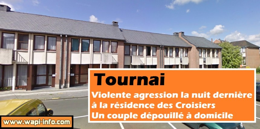 tournai violente agression