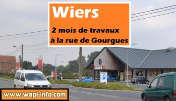 Wiers : 2 mois de travaux à la rue de Gourgues