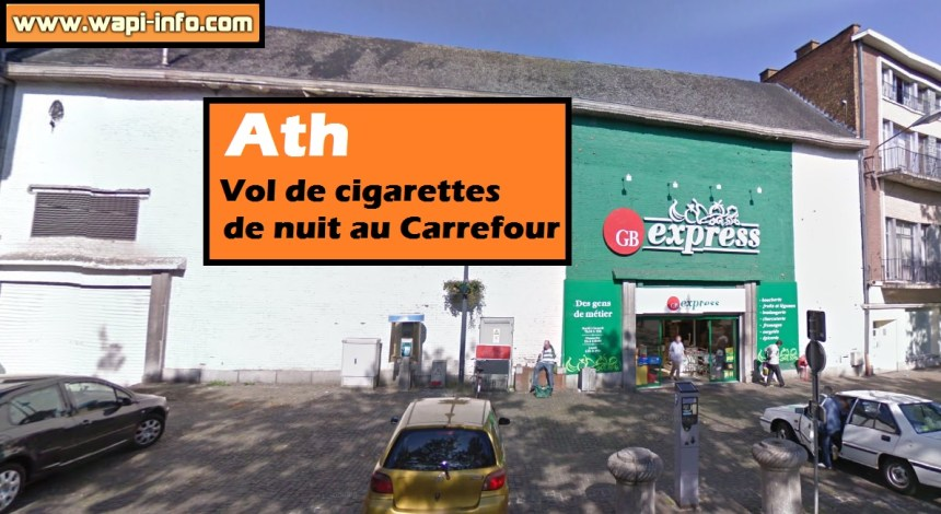 Ath vol de cigarettes carrefour
