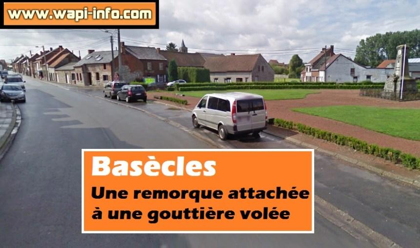 Basecles remorque volee