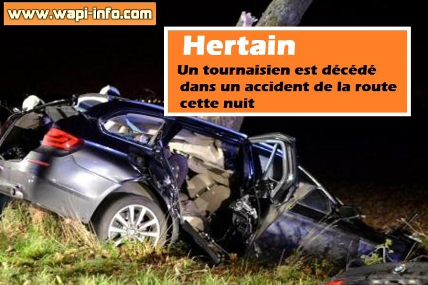Hertain accident mortel