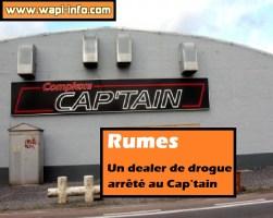 Rumes : un dealer de drogue arrêté au Cap'tain