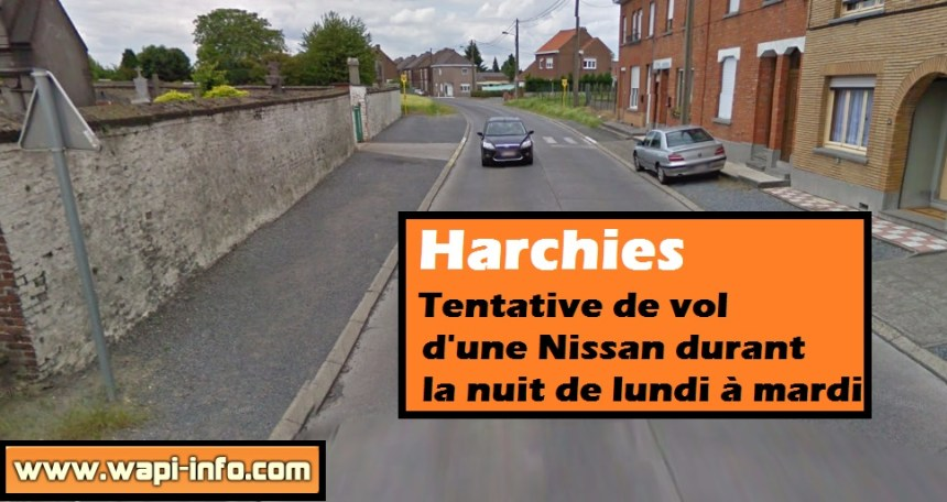 harchies nissan tentative vol