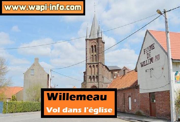 willemeau vol eglise