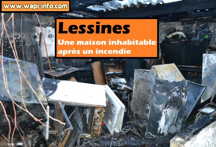 Lessines maison inhabitable
